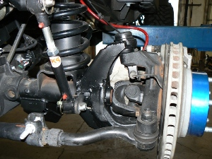 2008 JK Offroad Evolution Dana 44 Rubicon outer C-brace kit