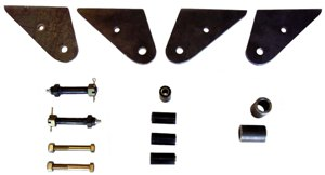 CJ5 & 6 Long Spring Shackle Reversal Kit