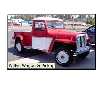 Willys Wagon & Pickup Parts